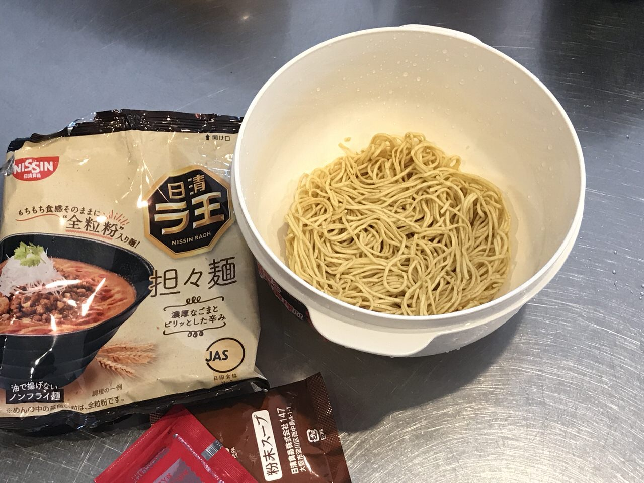 手軽で旨いレンチンする袋麺の油そば化計画 4