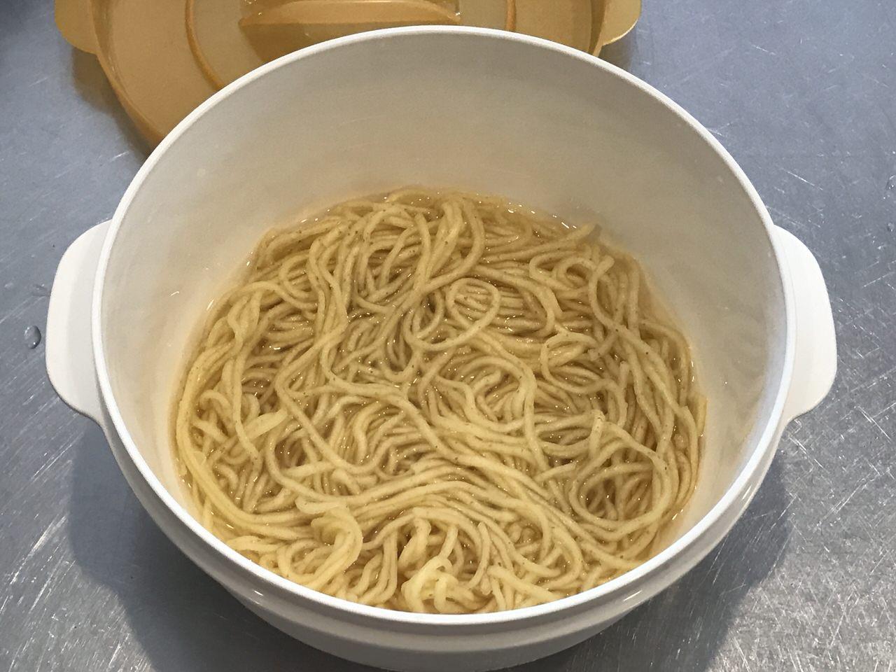 手軽で旨いレンチンする袋麺の油そば化計画 6