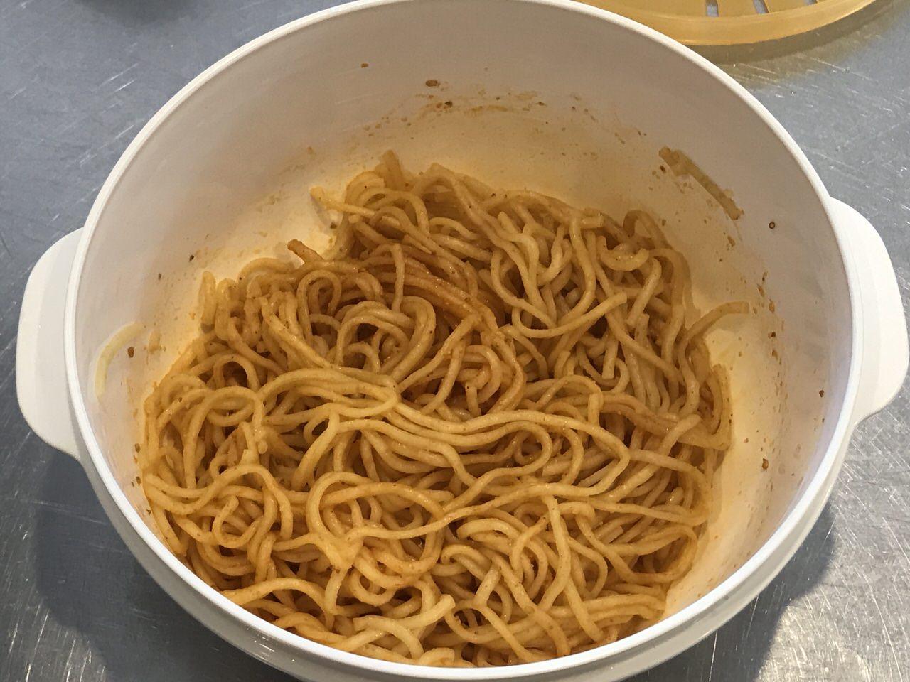 手軽で旨いレンチンする袋麺の油そば化計画 8
