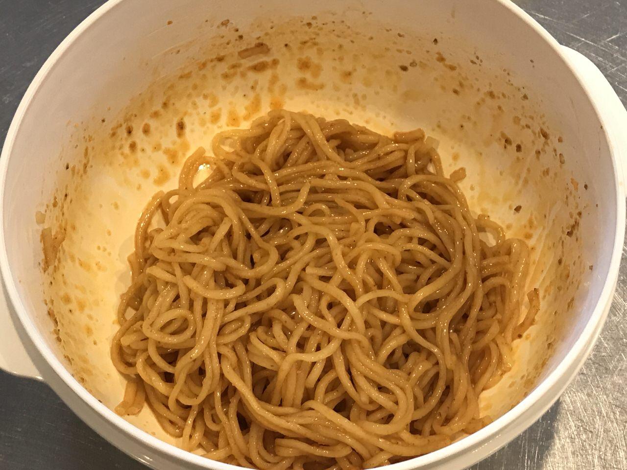 手軽で旨いレンチンする袋麺の油そば化計画 9