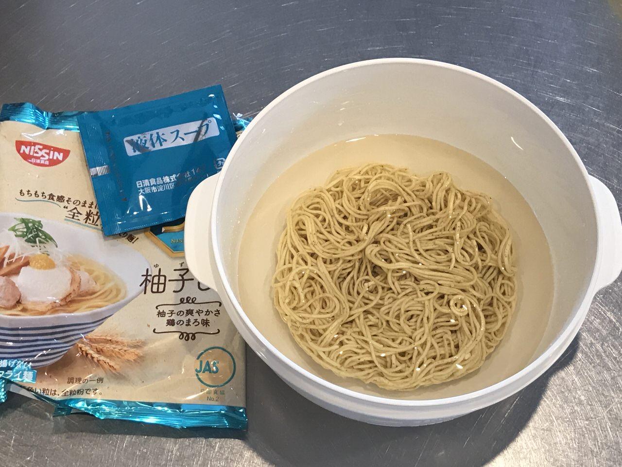 手軽で旨いレンチンする袋麺の油そば化計画 10