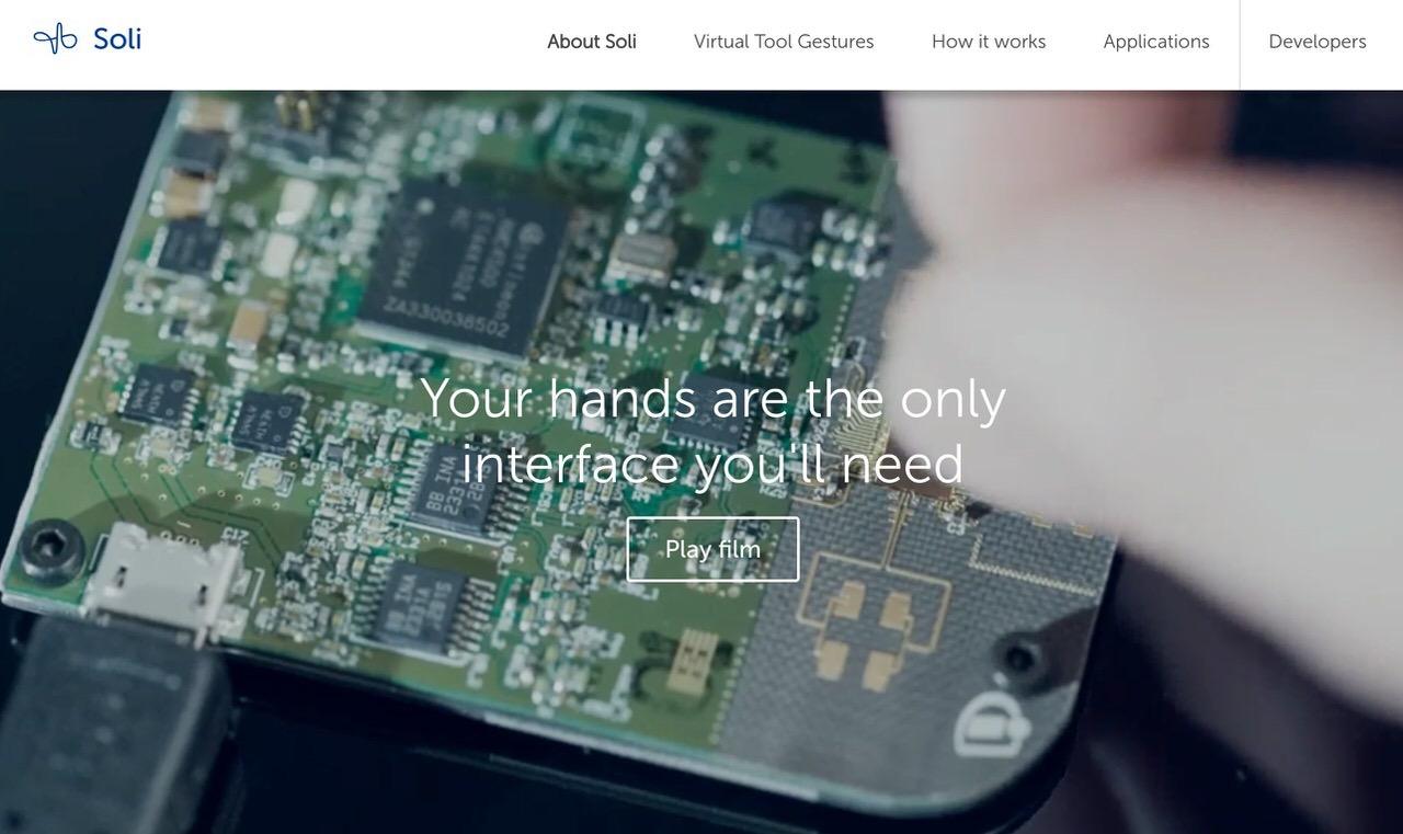 Pixel 4に搭載予定のミリ波レーダーでジェスチャー認識する「Project Soli」が未来的