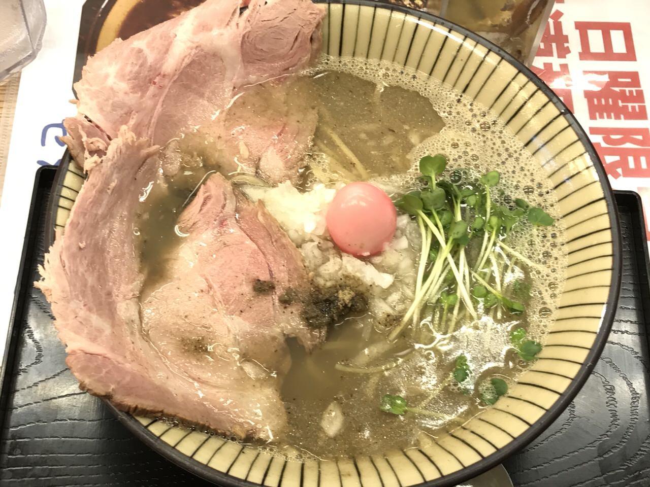 間借りラーメン「仮麺中」10