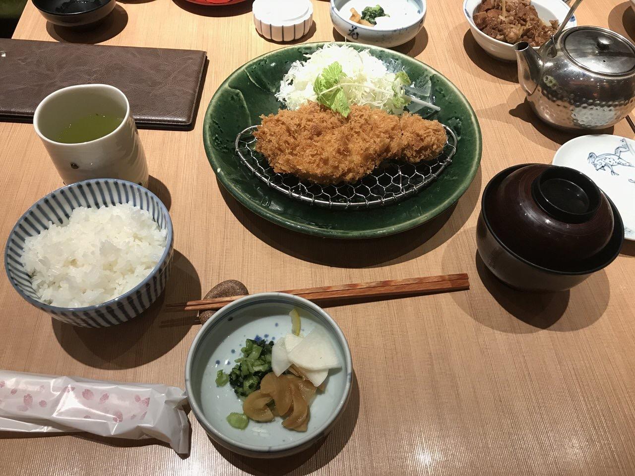 「和豚 かつ仙」羽田空港でとんかつ 2