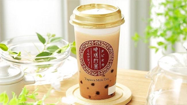 【ローソンストア100】100円の「タピオカミルクティー」を発売へ