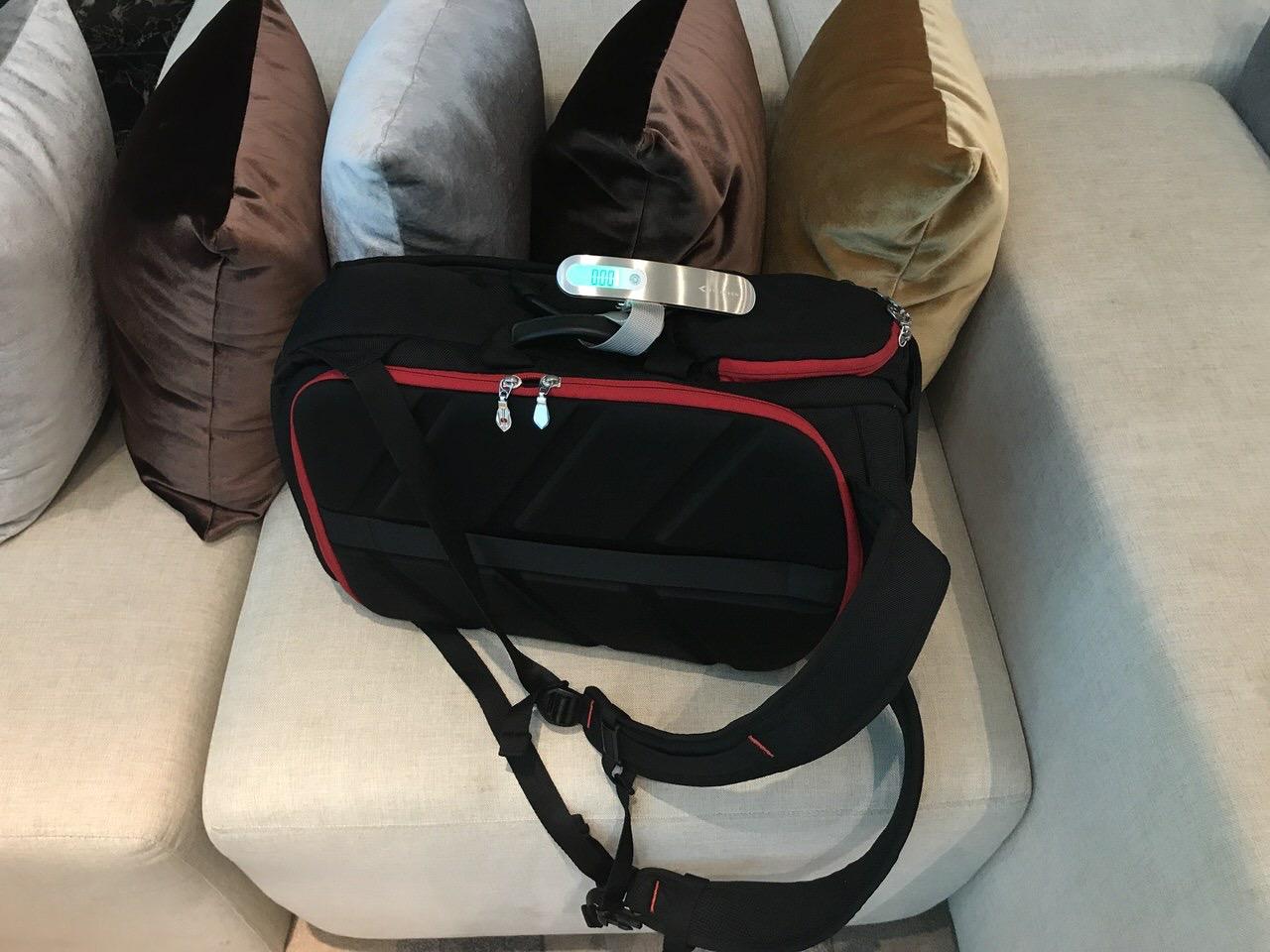 LCCで旅する人は小さいハカリを持ち運ぶと便利