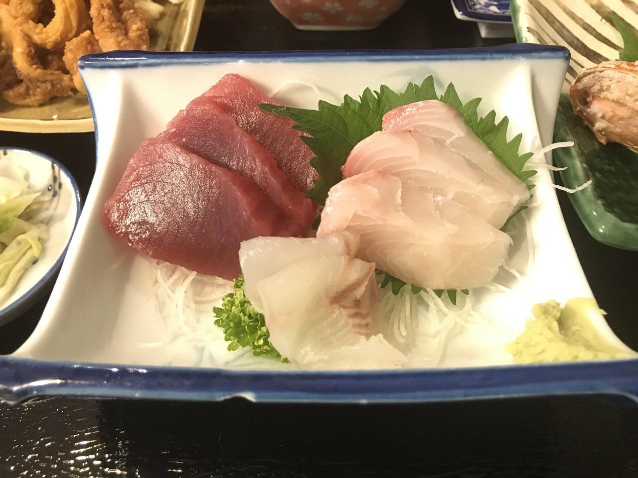 「民宿かやま&北浜」夕食 2