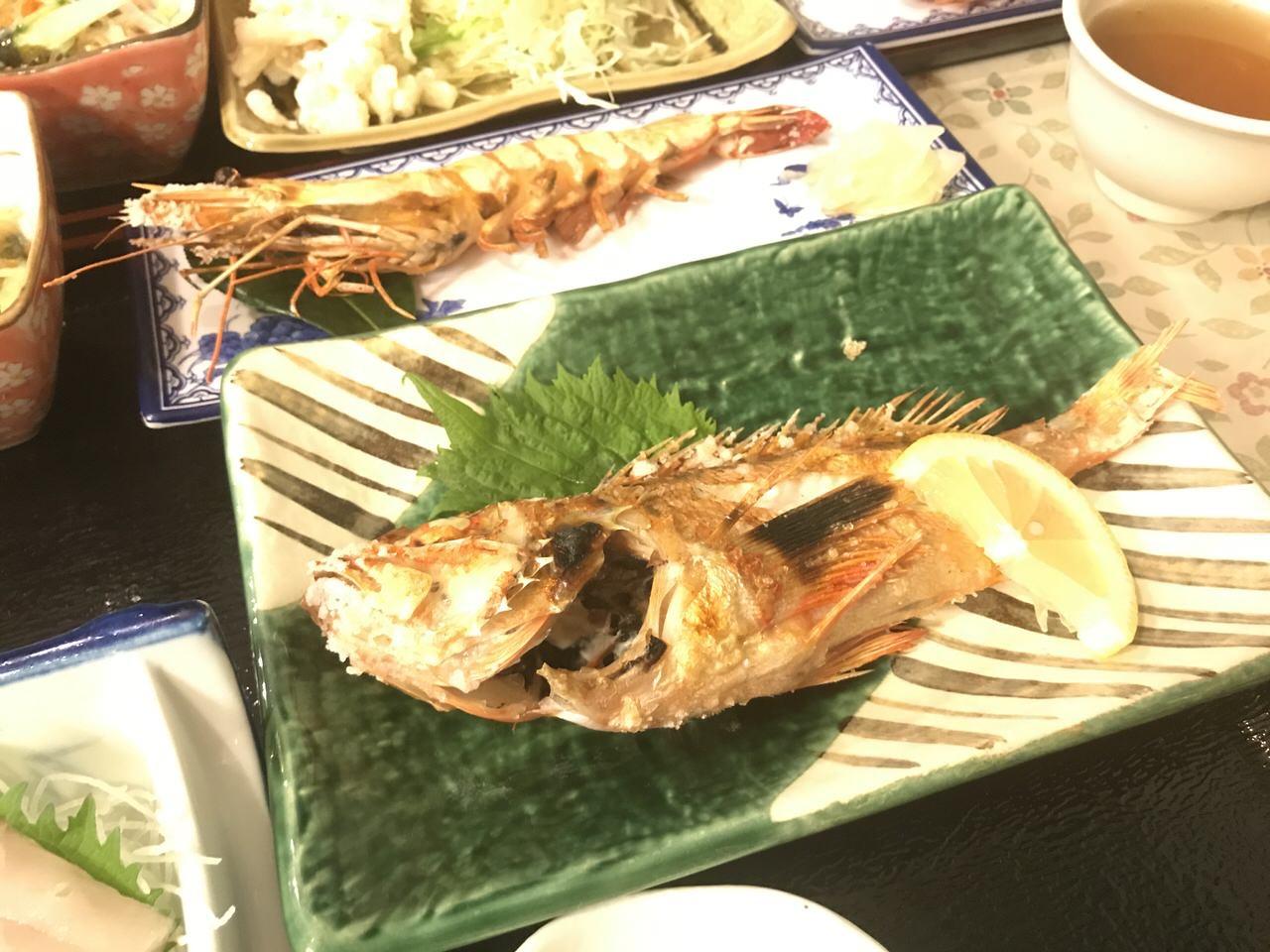 「民宿かやま&北浜」夕食 3