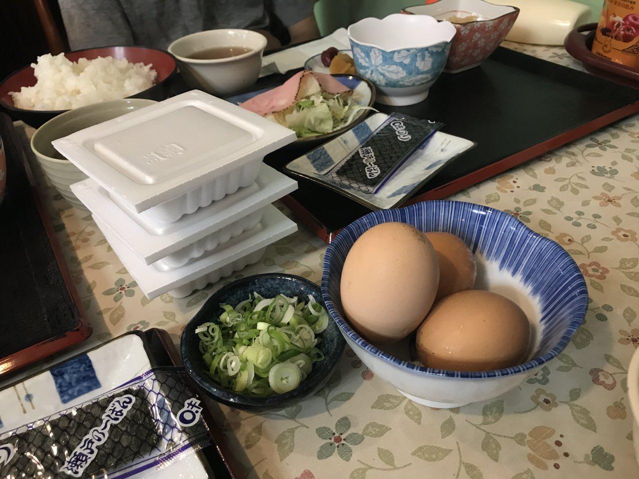「民宿かやま&北浜」朝食 3