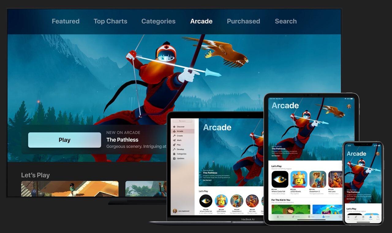 Appleのサブスクゲームサービス「Apple Arcade」月額600円で2019年9月20日開始