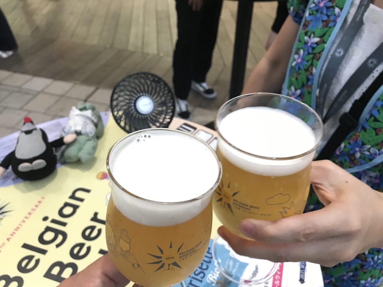 「ベルギービールウィークエンド2019」六本木ヒルズアリーナ 11