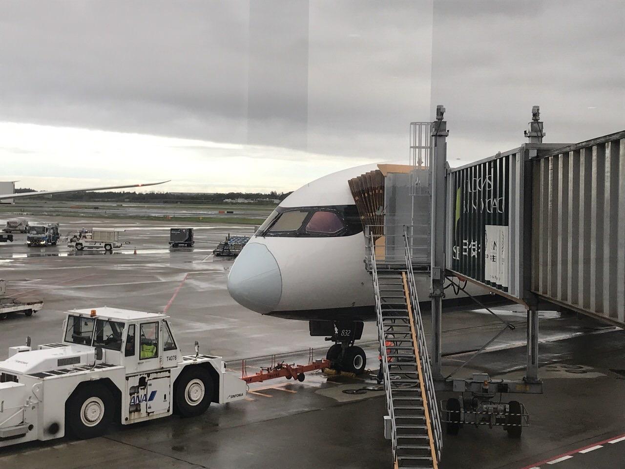 【エアカナダ】機内食や機内WiFi【AC6】3