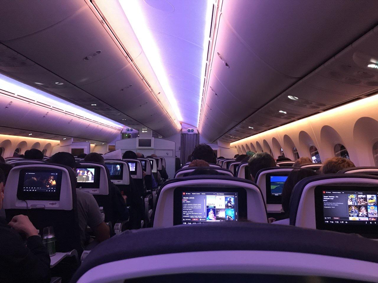 【エアカナダ】機内食や機内WiFi【AC6】4