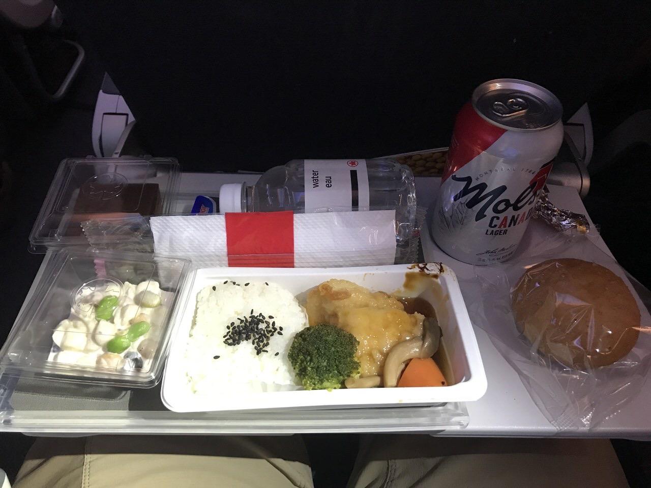 【エアカナダ】機内食や機内WiFi【AC6】7