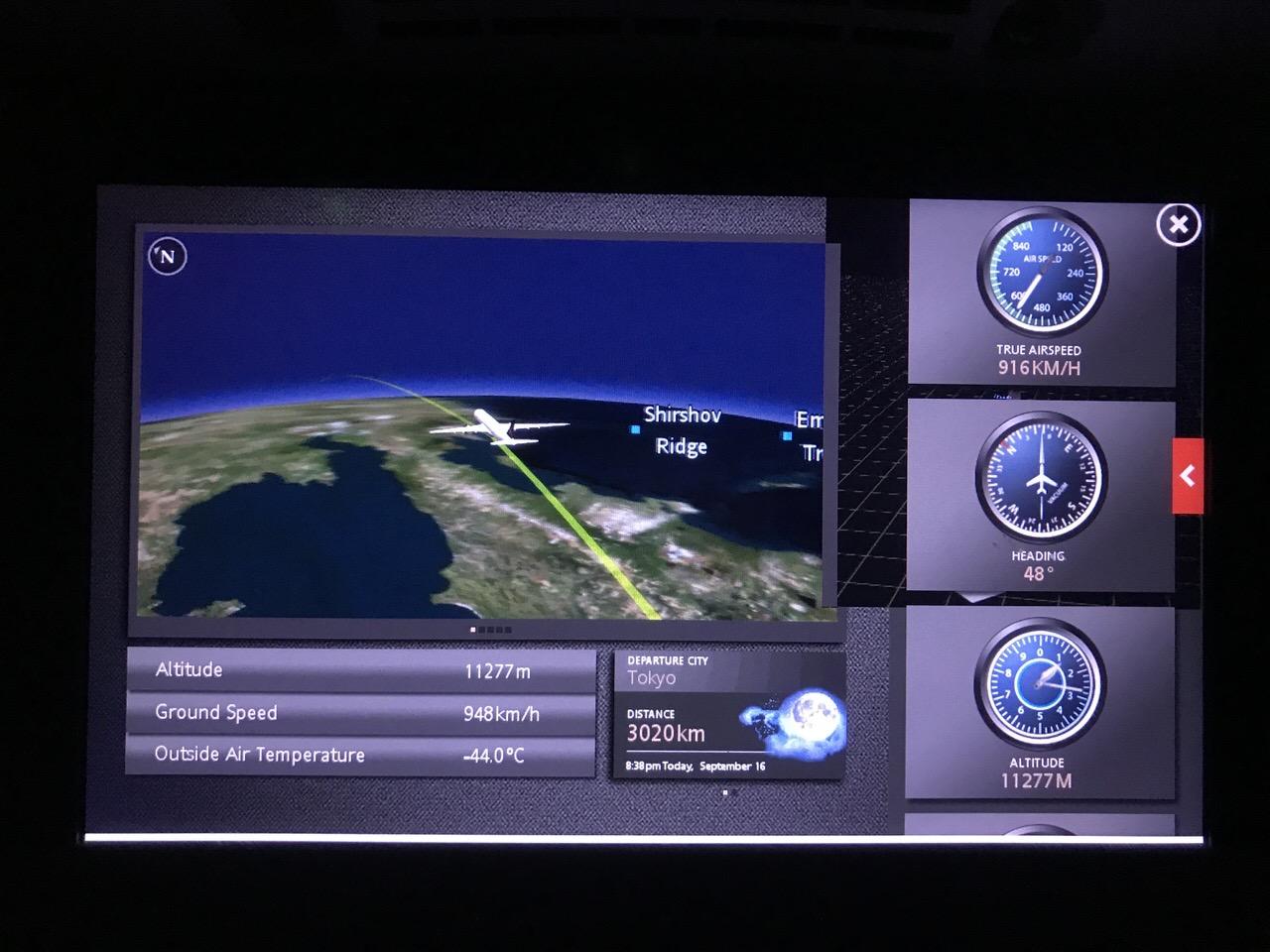【エアカナダ】機内食や機内WiFi【AC6】6