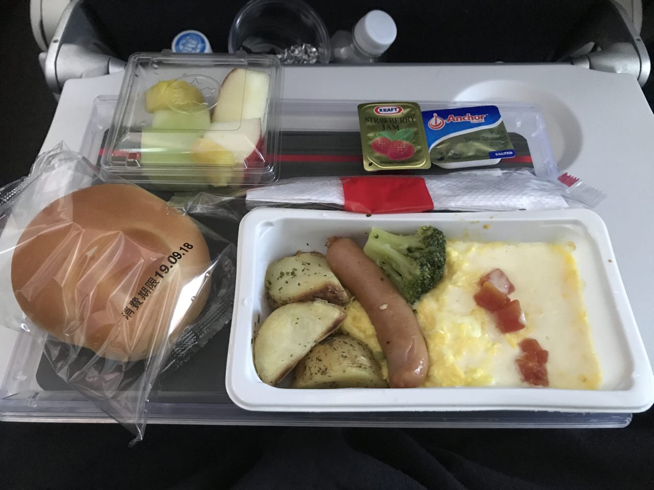 【エアカナダ】機内食や機内WiFi【AC6】9