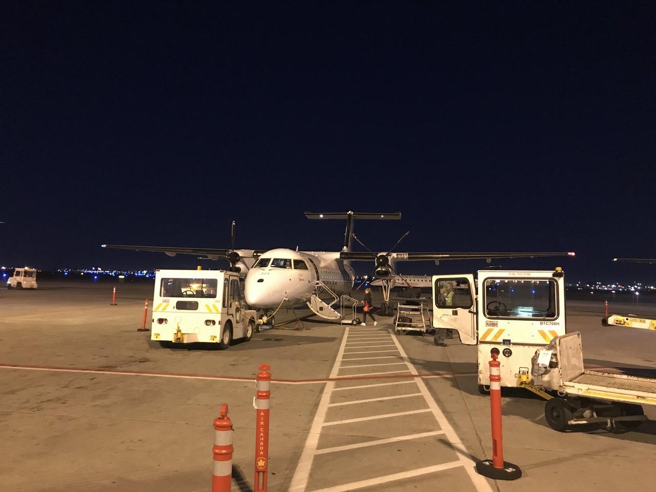 【エアカナダ】機内食や機内WiFi【AC6】22