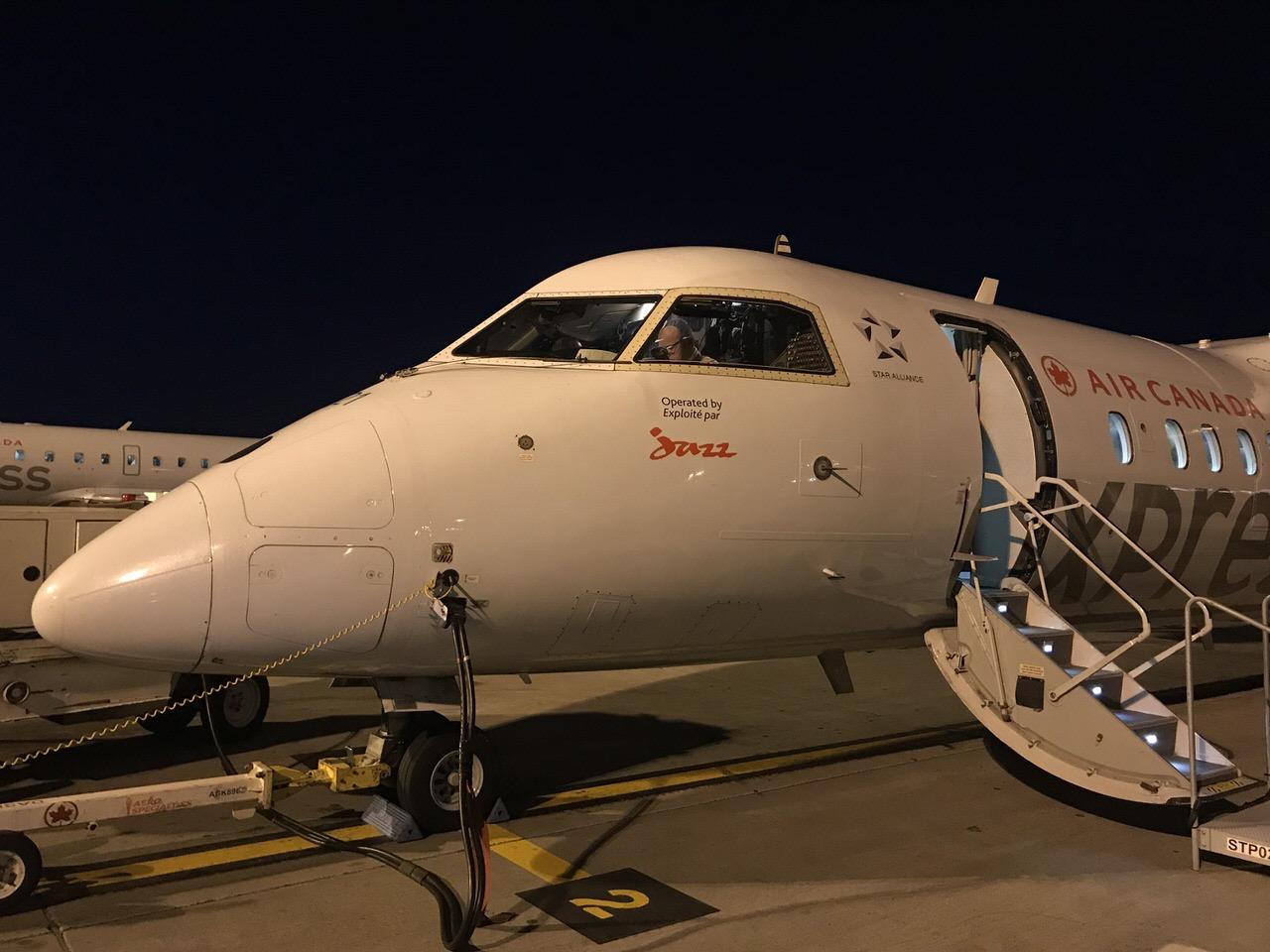 【エアカナダ】機内食や機内WiFi【AC6】23