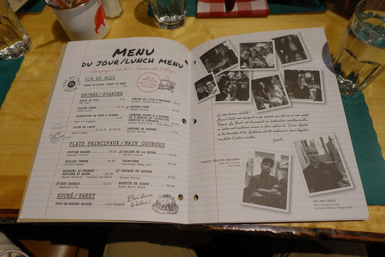 シュガーシャックのケベック料理「La Buche」26