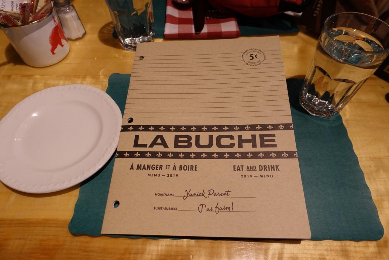 シュガーシャックのケベック料理「La Buche」23
