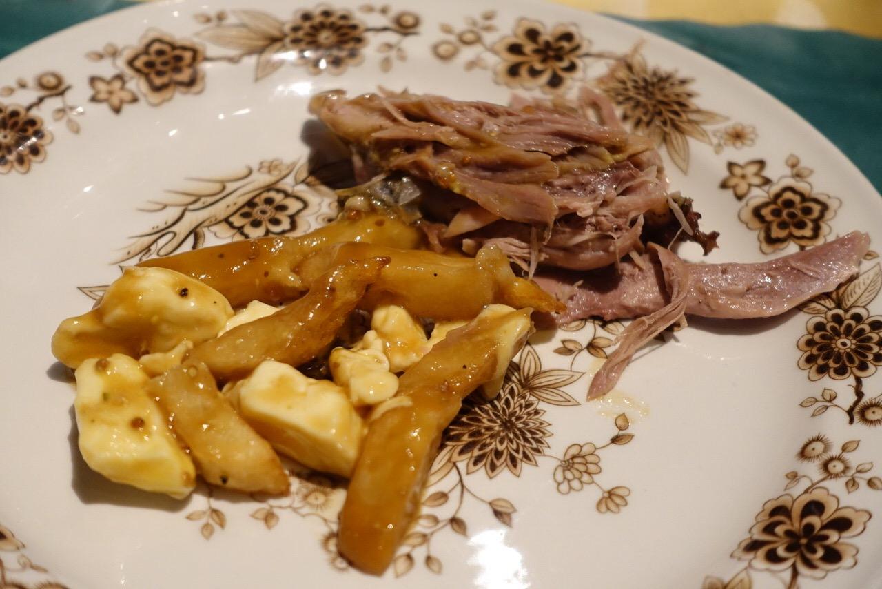 シュガーシャックのケベック料理「La Buche」16
