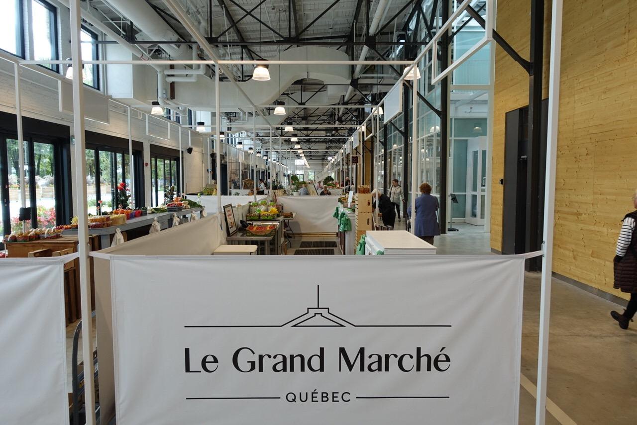 ケベック「ル グランマルシェ(Le Grand Marche)」4