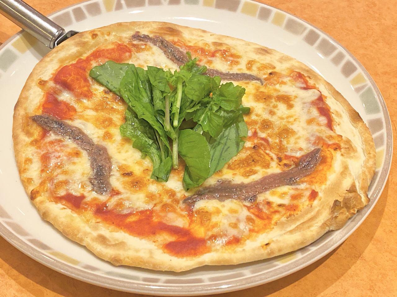 アンチョビピザ 1