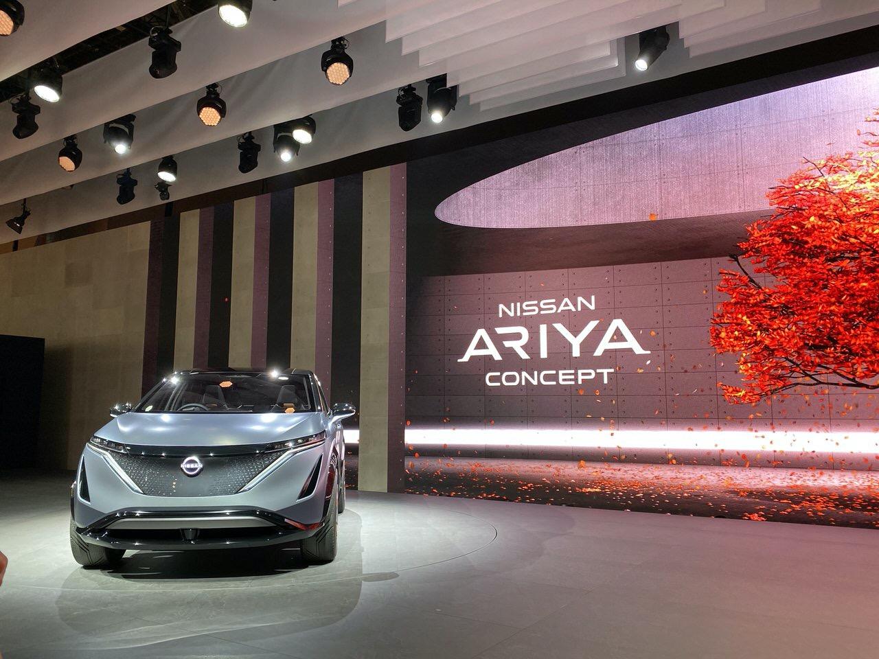 日産が東京モーターショーでEVのSUV「アリア」とEV軽自動車「IMk」を発表したけれどより世界にインパクトを与えそうなのは? #日産あんばさだー