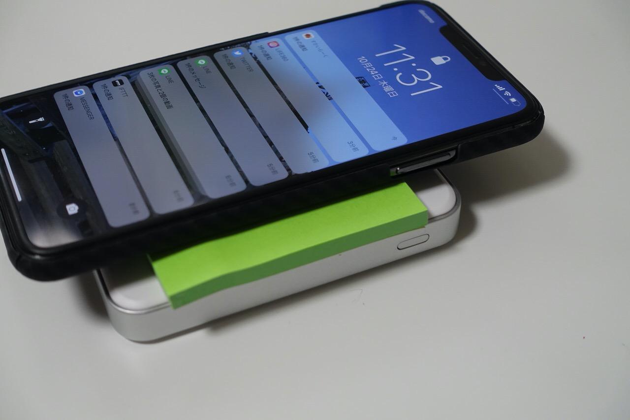 「cheero Energy Plus mini Wireless 4400mAh」17