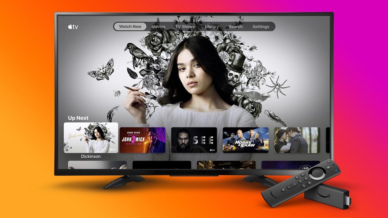 「Apple TV」アプリが「Fire TV Stick」向けにリリース