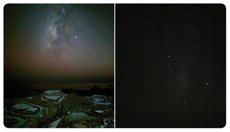 「Pixel 4」と「iPhone 11 Pro」の天の川の撮り比べが凄い!!!何が凄いって「Pixel 4」が凄い!!!
