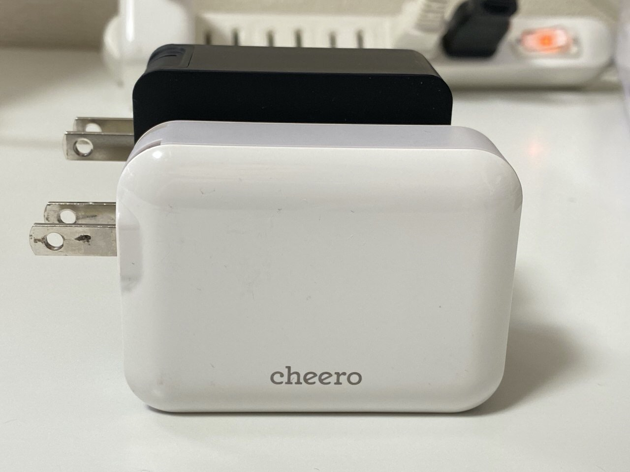 【cheero】「2 Port PD Charger 57W」9