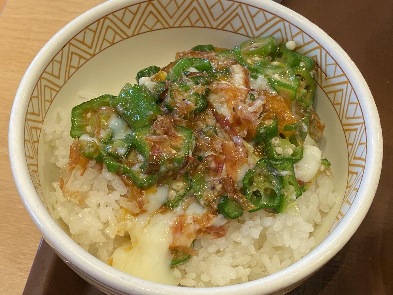 すき家の朝食で味噌汁を豚汁に変更 6