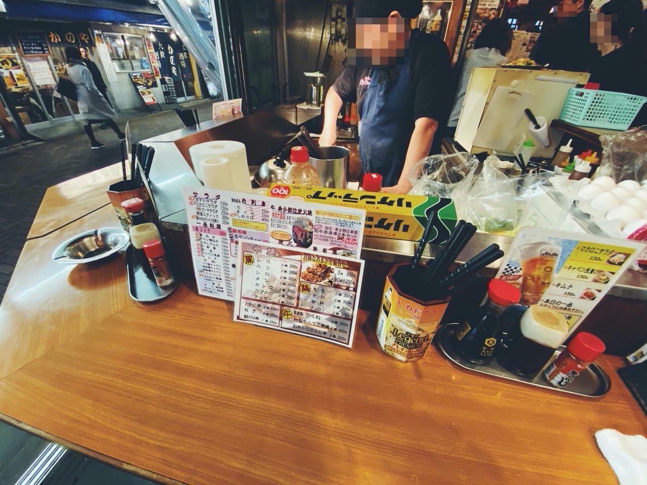 上野で立ち飲み「カドクラ」4