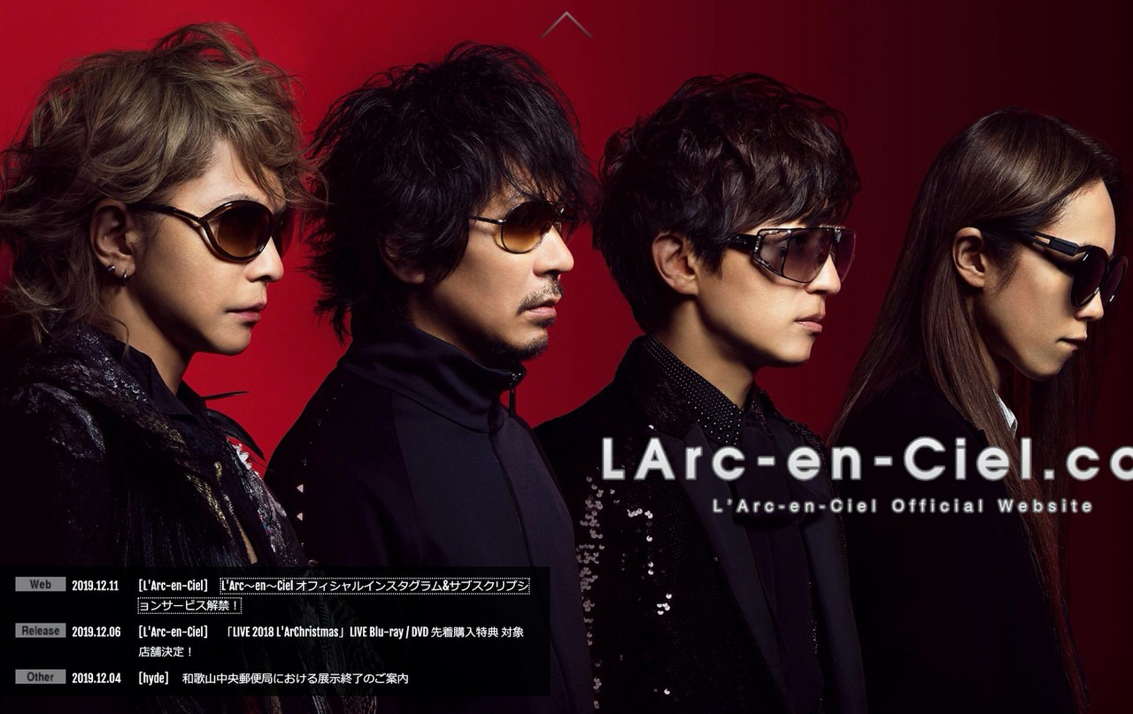 「L'Arc~en~Ciel」サブスクリプションサービスで全487曲を配信開始