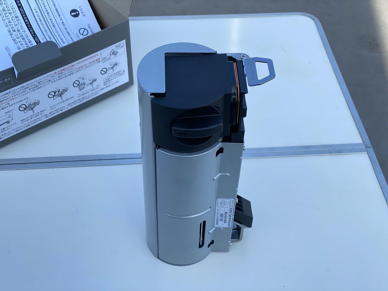 スノーピークのカセットコンロ「HOME&CAMPバーナー(GS-600KH)」4
