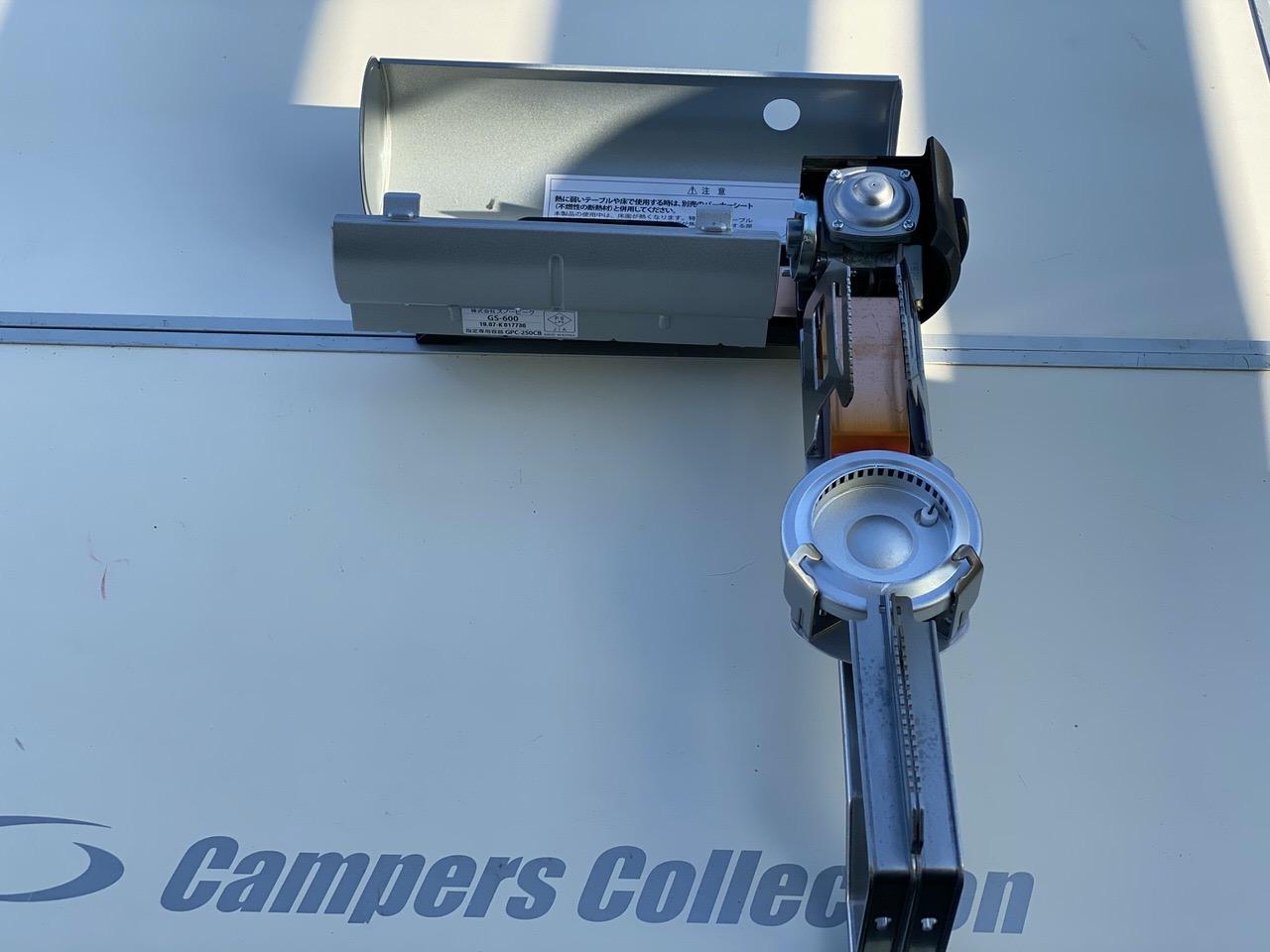 スノーピークのカセットコンロ「HOME&CAMPバーナー(GS-600KH)」10