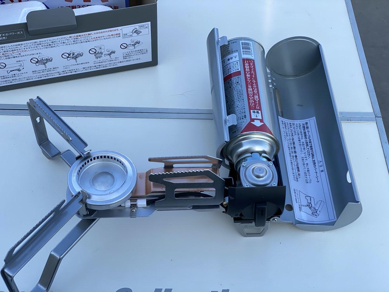 スノーピークのカセットコンロ「HOME&CAMPバーナー(GS-600KH)」12