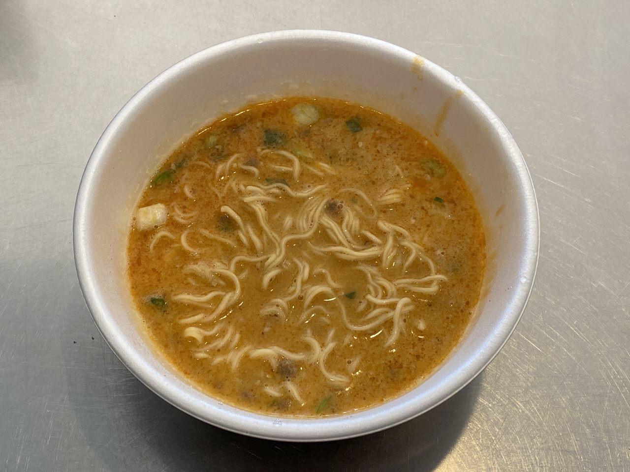 【セブンイレブン】「鳴龍 担担麺」4