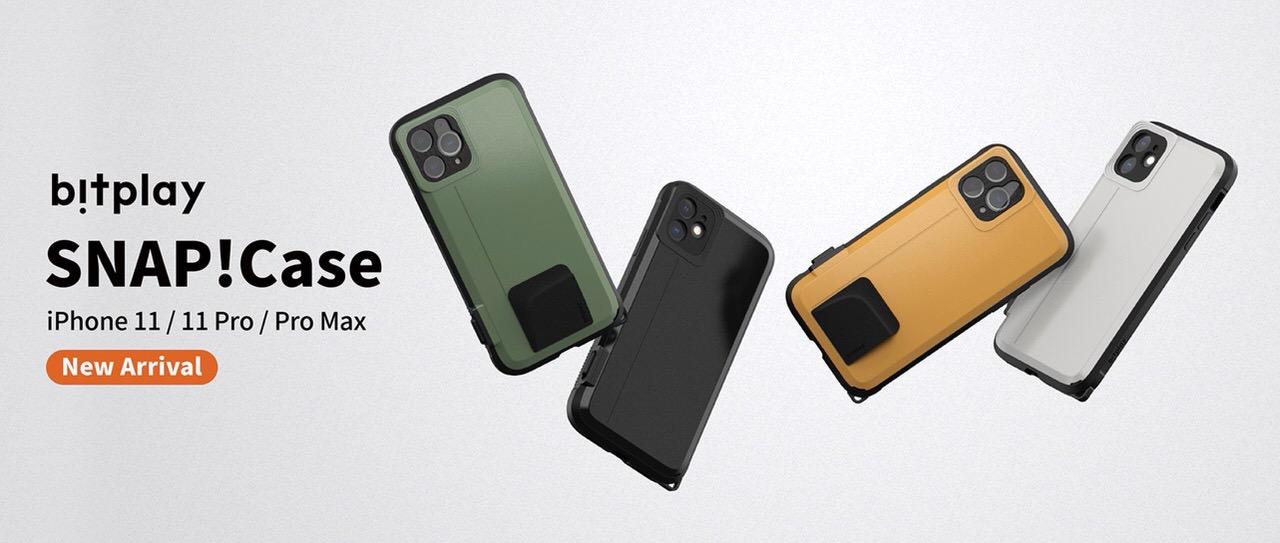 物理シャッターボタン搭載のiPhoneケース「bitplay SNAP! CASE 2019」iPhone 11シリーズ用が登場