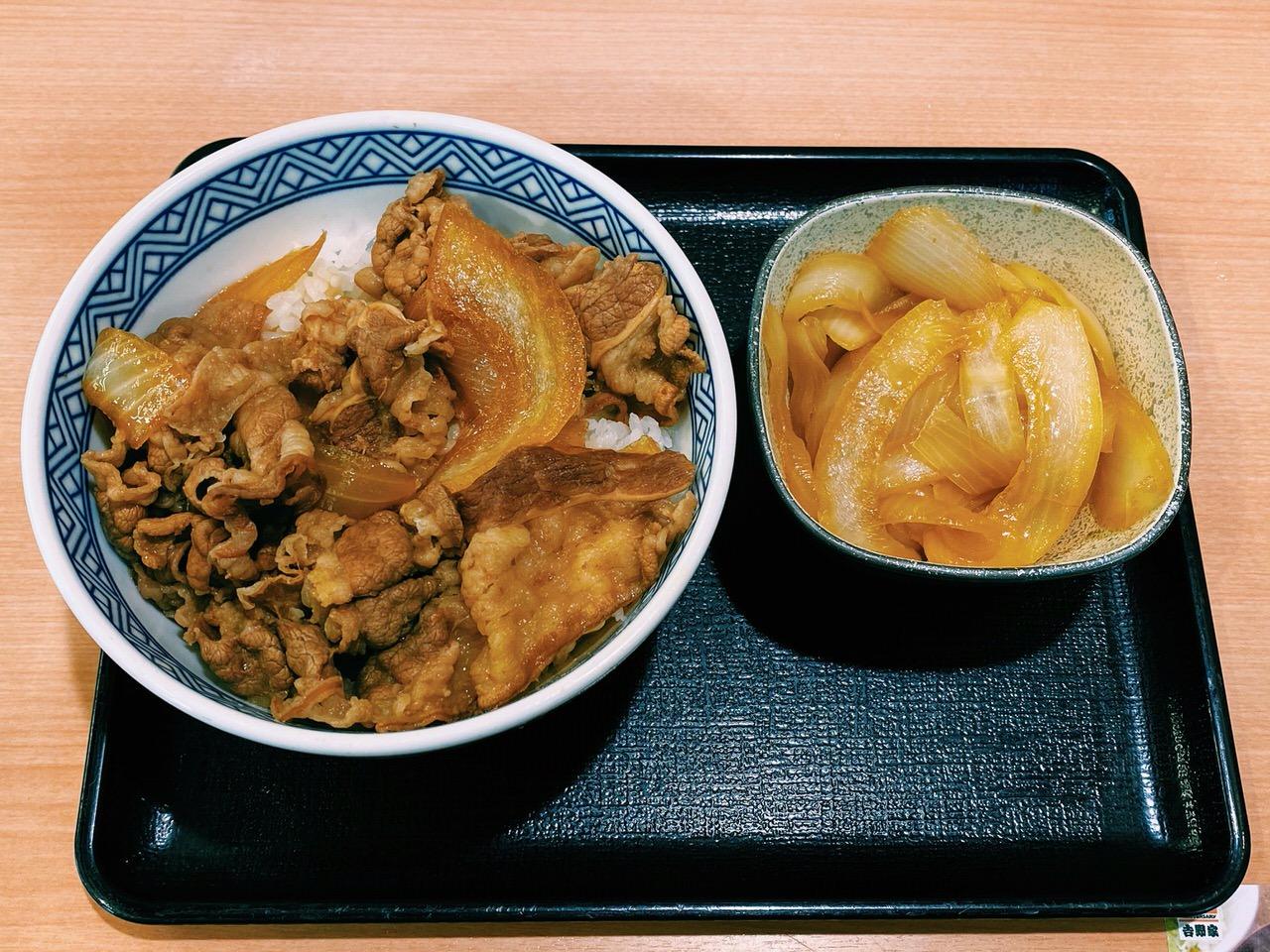 【吉野家】「ねぎだく牛丼」3