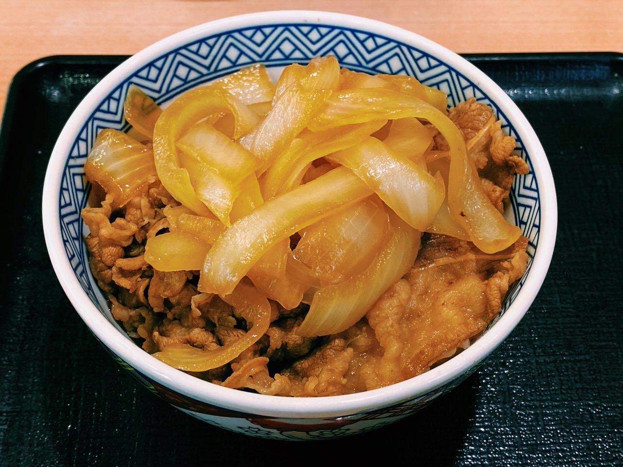 【吉野家】「ねぎだく牛丼」6