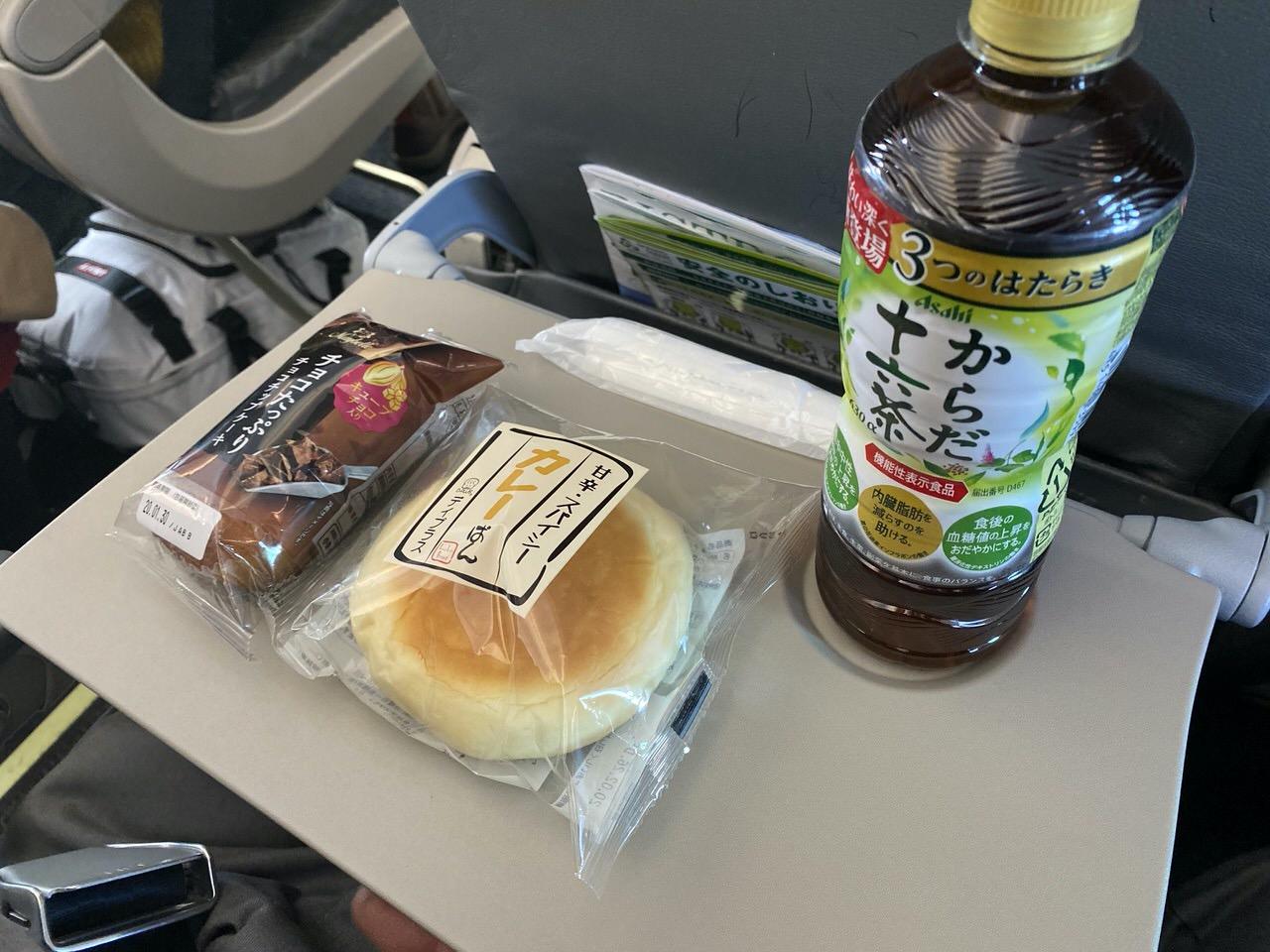 「春秋航空」搭乗手続き→機内食 29