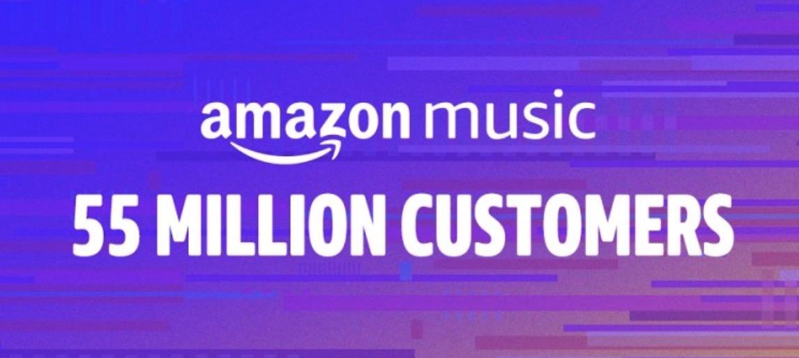 「Amazon Music」ユーザー数が5,500万人以上と発表