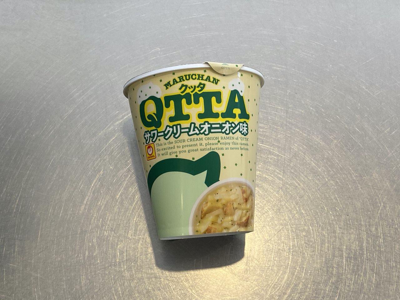「QTTA サワークリームオニオン味」1