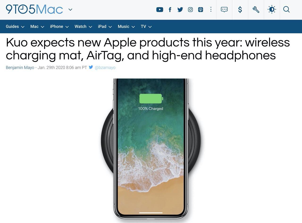 Apple、2020年前半にiPhone SE2、新しいiPad Pro、Appleタグなどをリリースか?