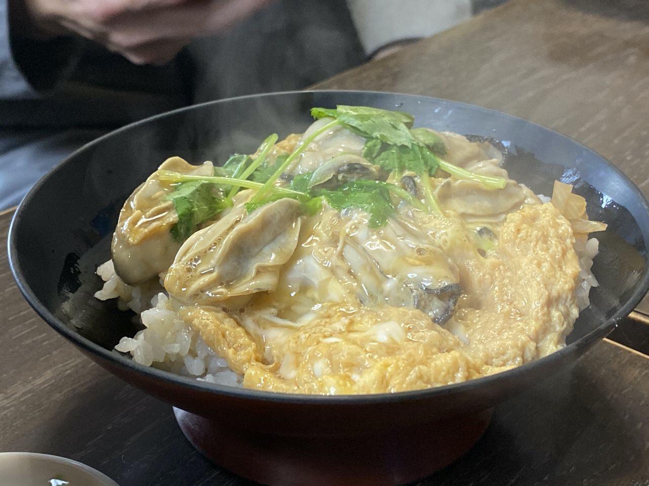 「かき友」牡蠣刺し・カキフライ定食(呉)10