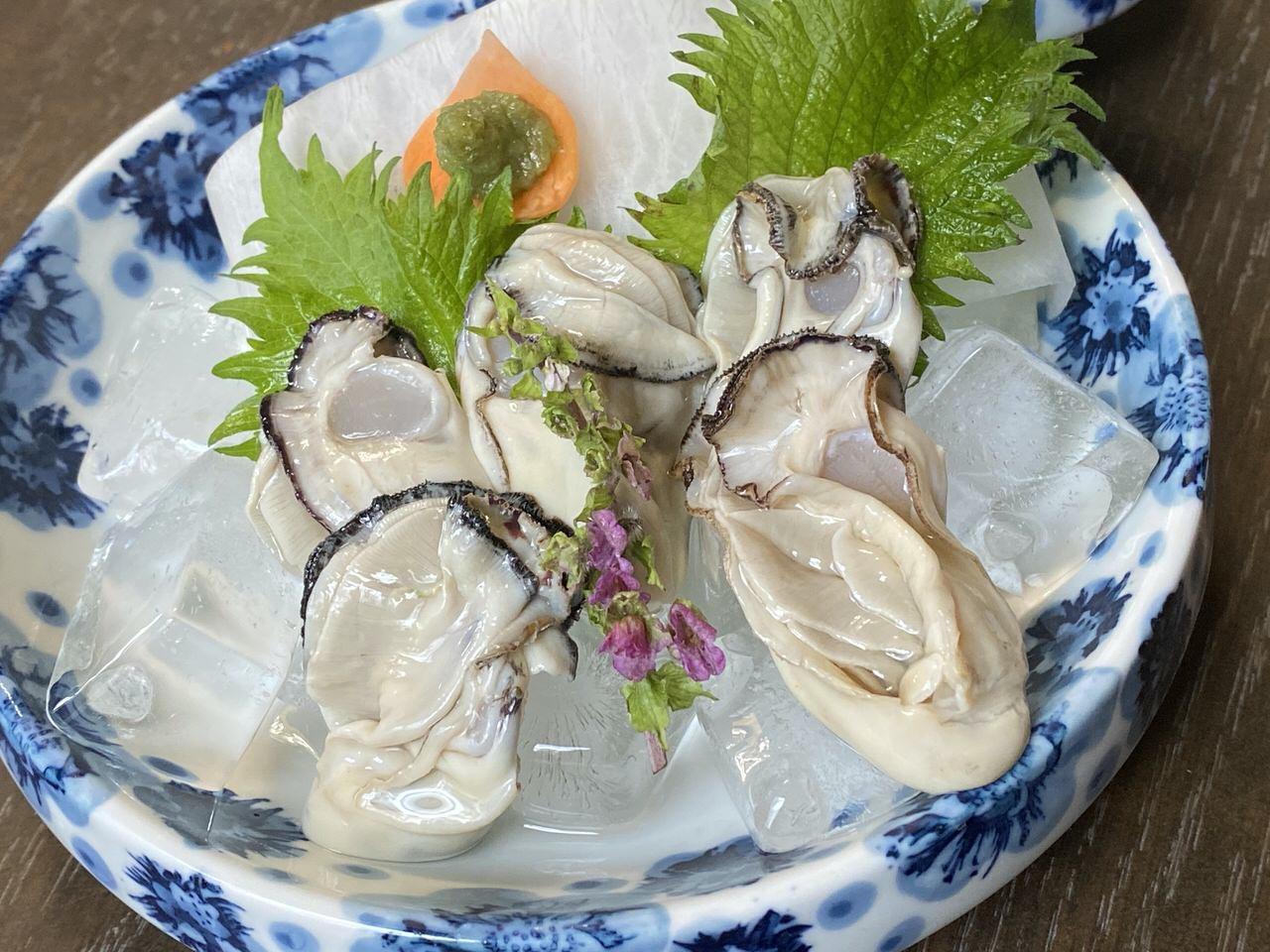 「かき友」牡蠣刺し・カキフライ定食(呉)8