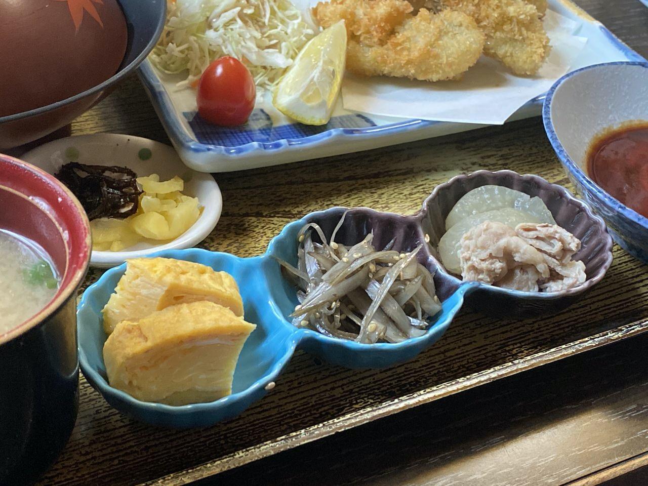 「かき友」牡蠣刺し・カキフライ定食(呉)14