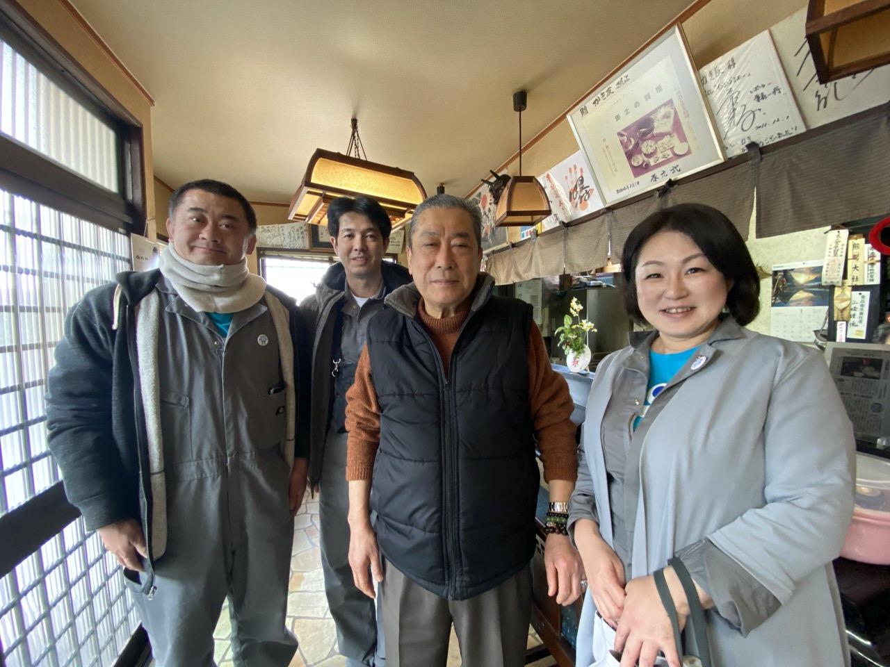 「かき友」牡蠣刺し・カキフライ定食(呉)16